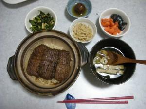 7月25日の晩ご飯