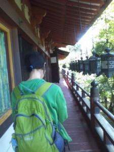 談山神社本堂廊下