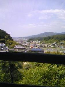 聖林寺からの眺め