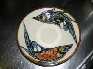 沖縄の絵皿