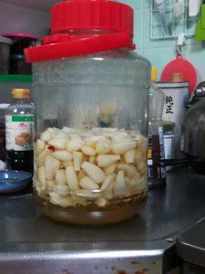 らっきょの甘酢漬け2018-06-06