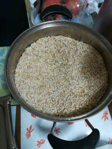 玄米麹と塩2019